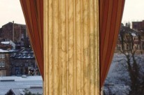 Marble Effect Painted Columns