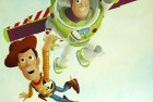 Hand Painted Toy Story Mural