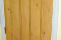 Faux Wood Effect Pine Door
