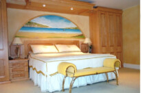 Hand Painted Seaside Murals