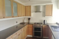 Hand Painted Oak Laminate Kitchen