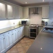 Hand Painted Oak Laminate Kitchen, Harrogate – Blog by Lee Simone